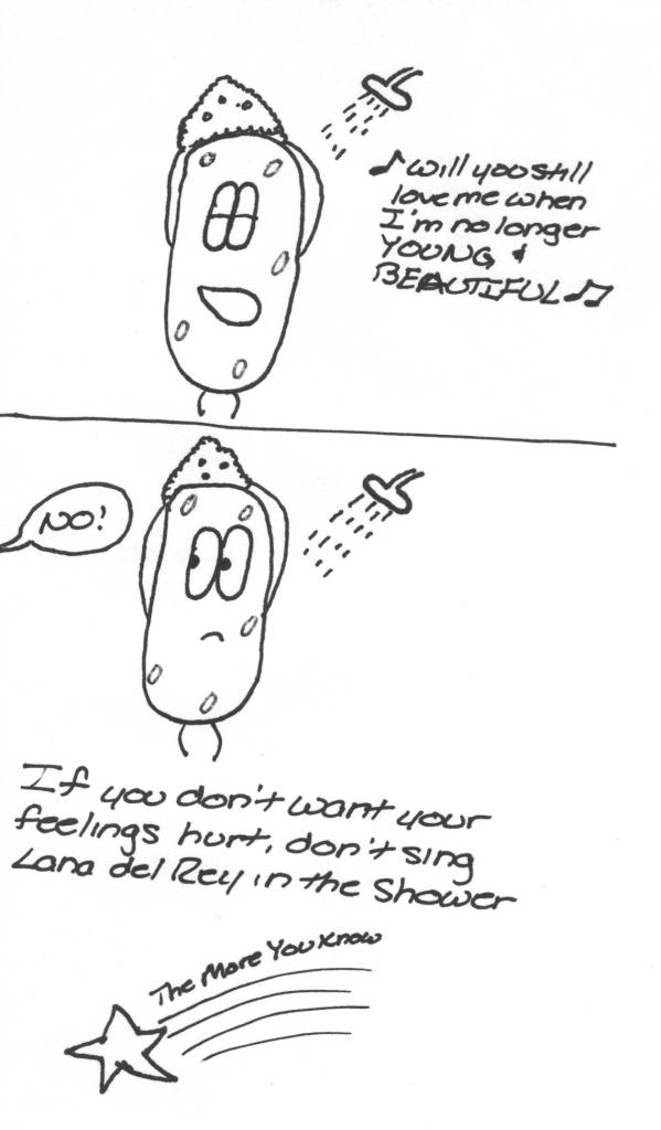 Singing Comic Strip