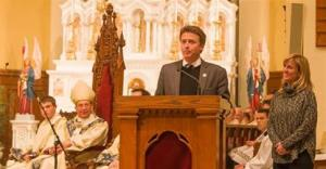 Photo of new Mount President Simon Newman