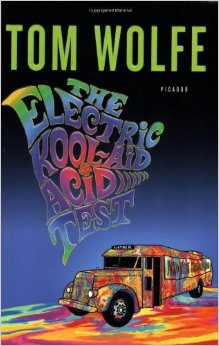 Picture of the cover of Tom Wolfe's The Electric Kool-Aid Acid Test