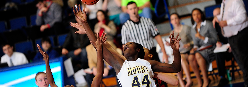 Photo from Mount-Sacred Heart Women's basketball on Jan. 31, 2015