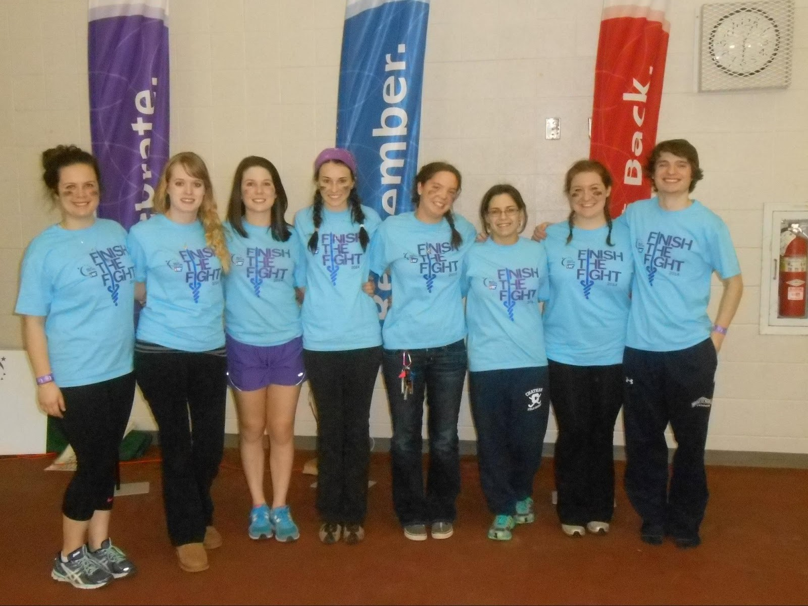 Photo of Relay for Life board
