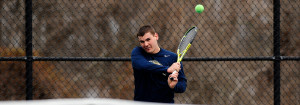 Photo of Peter Solomon Playing Tennis