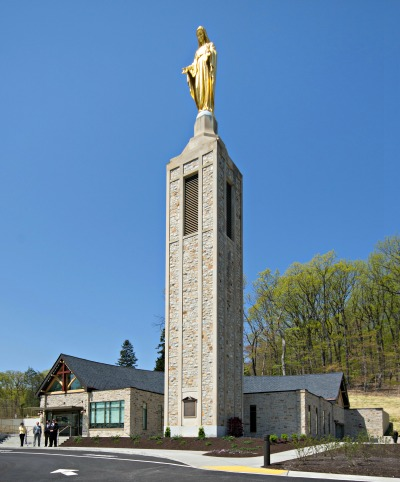 Photo of statue of St. Mary