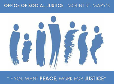 Logo of Mount St. Mary's University Office of Social Justice