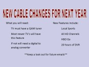 Picture of new cable guide for next year.