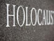 Holocaust text image.